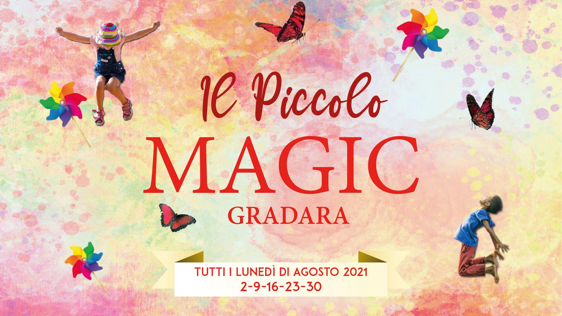 Ufficio stampa e social per Piccolo Magic 2021